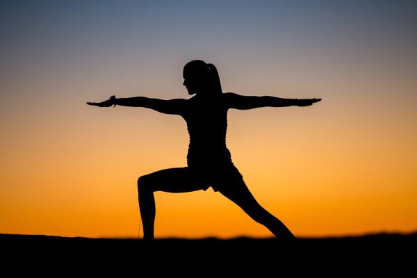 Yoga For Acid Reflux - Warrior Asana